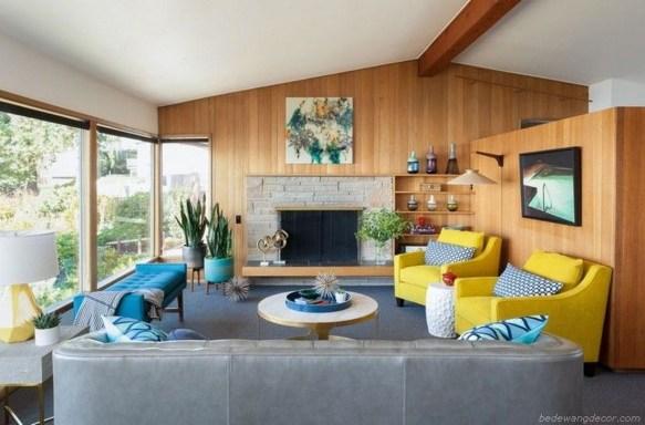 Stunning Modern Mid Century Living Room Design 23
