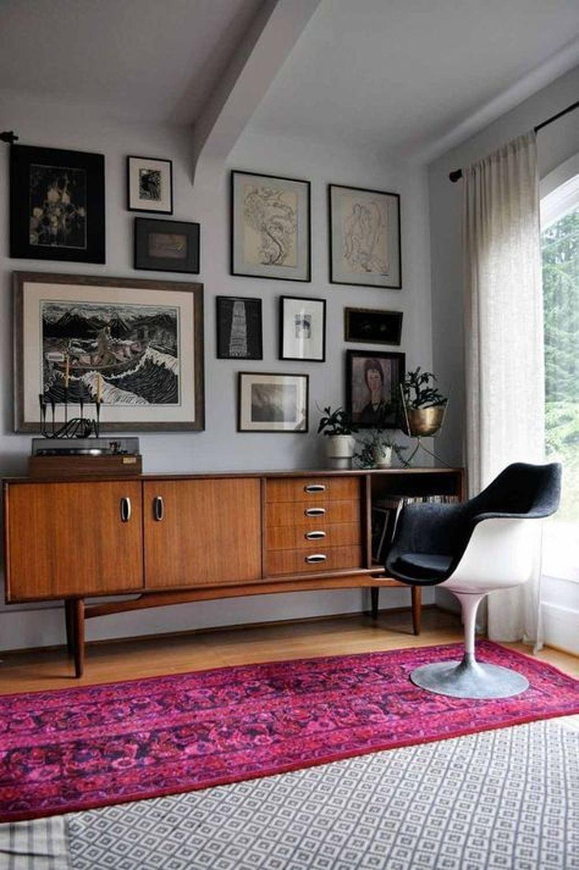 Stunning Modern Mid Century Living Room Design 36