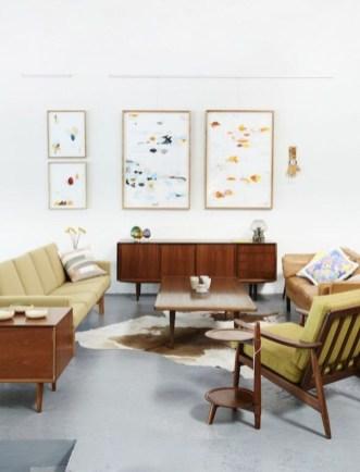 Stunning Modern Mid Century Living Room Design 40