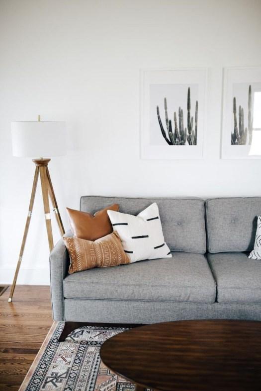 Stunning Modern Mid Century Living Room Design 45