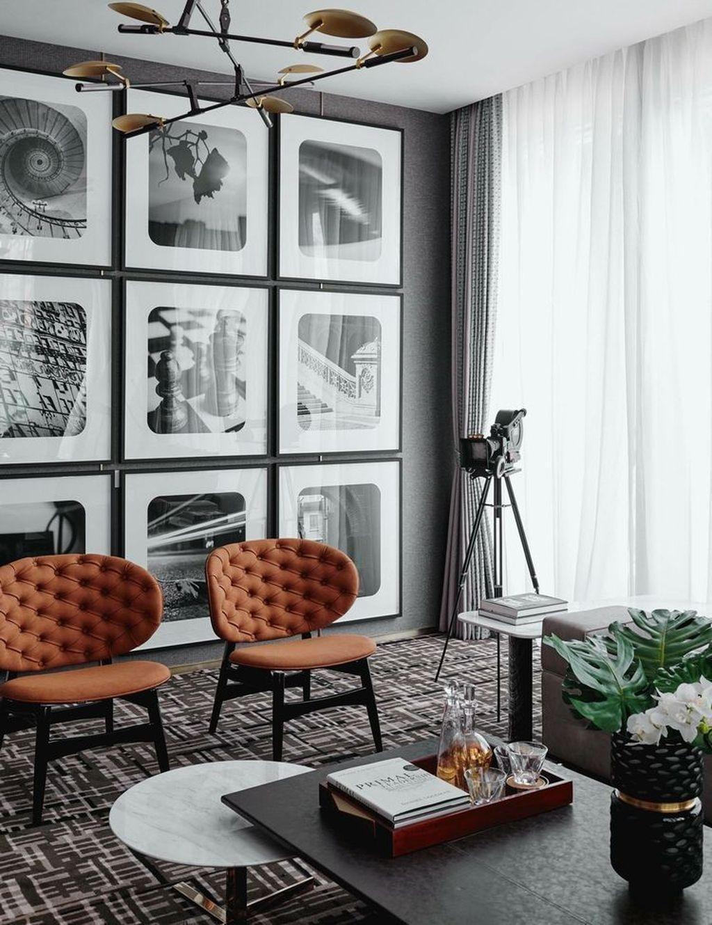 Stunning Modern Mid Century Living Room Design 46
