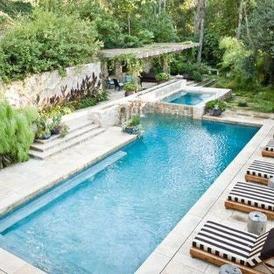 The Best Mediterranean Swimming Pool Design 18