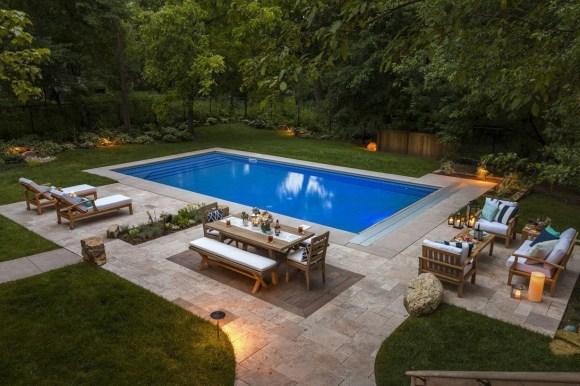 The Best Mediterranean Swimming Pool Design 38