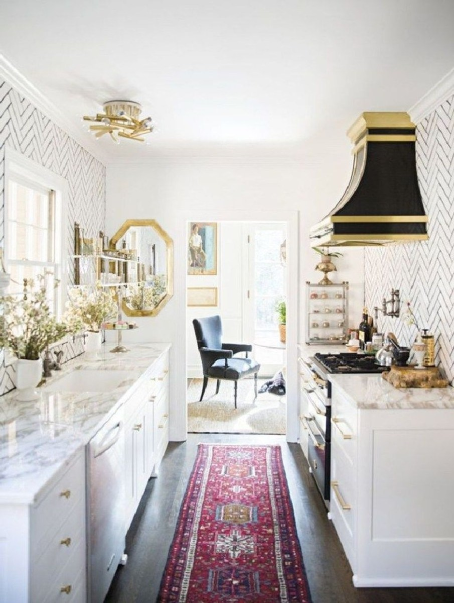 Upgrading Your Wall For Romantic Kitchen Decorations 07