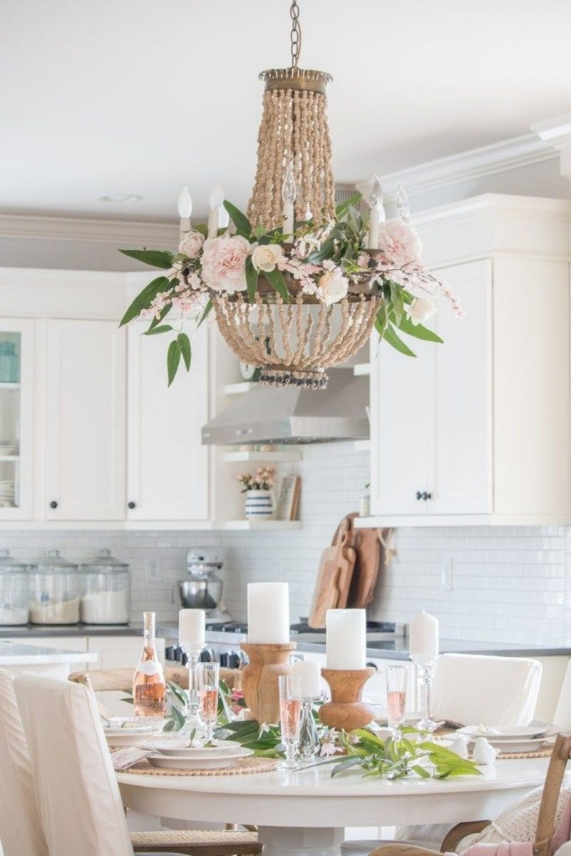 Upgrading Your Wall For Romantic Kitchen Decorations 14