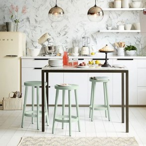 Upgrading Your Wall For Romantic Kitchen Decorations 35