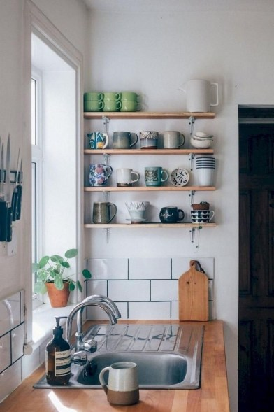 Upgrading Your Wall For Romantic Kitchen Decorations 36