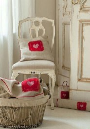 Valentines Day Home Decor With White Color Scheme 07