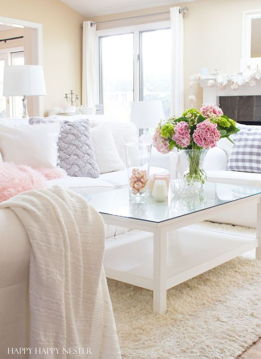 Valentines Day Home Decor With White Color Scheme 30