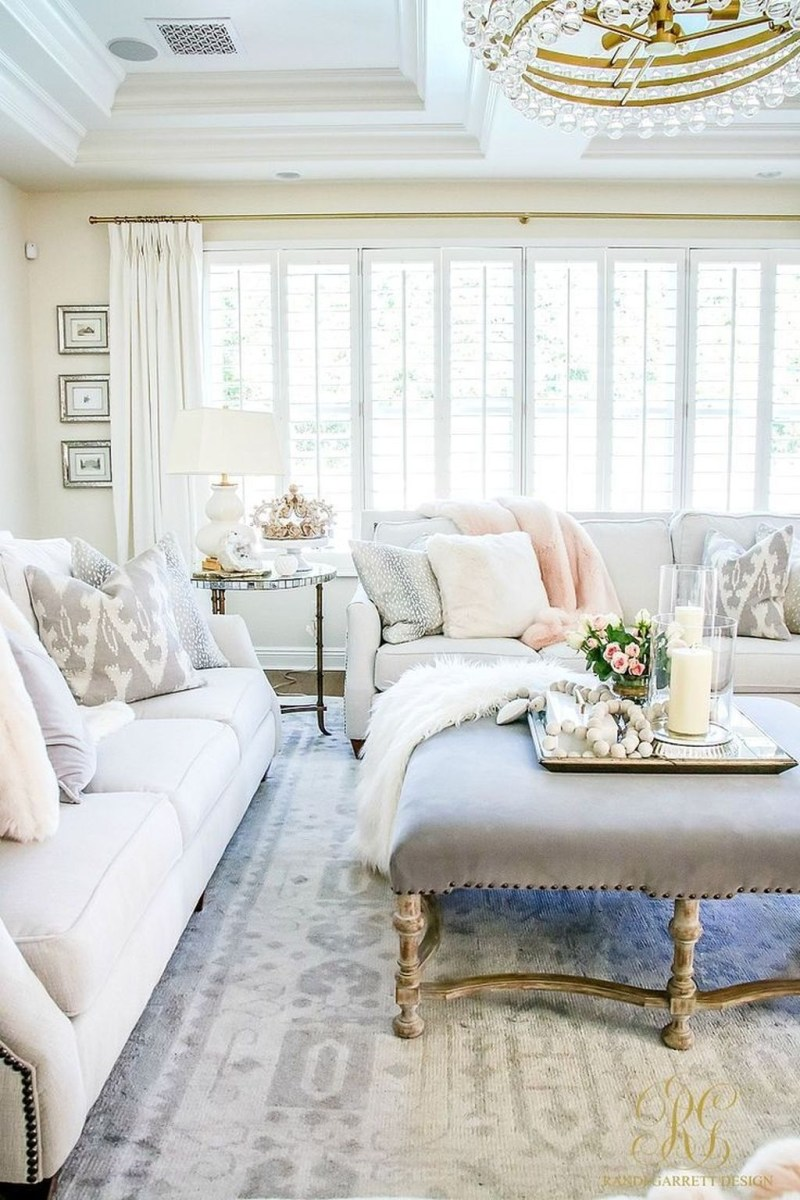 Valentines Day Home Decor With White Color Scheme 34
