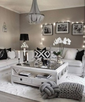 Valentines Day Home Decor With White Color Scheme 43