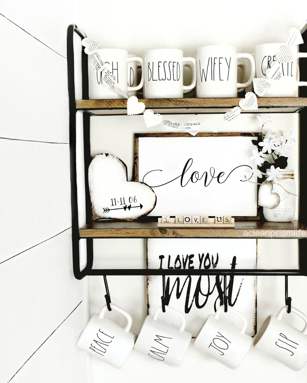 Valentines Day Home Decor With White Color Scheme 44
