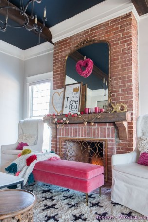 Valentines Day Home Decor With White Color Scheme 46