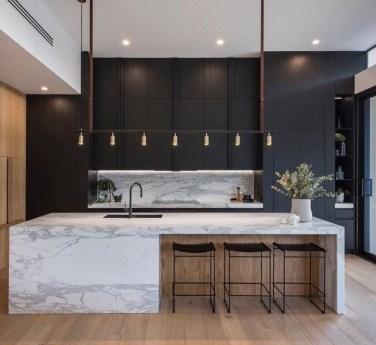 Black Kitchen Design Ideas With White Color Accent 10