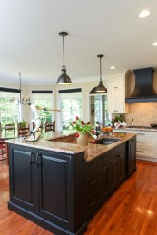 Black Kitchen Design Ideas With White Color Accent 13
