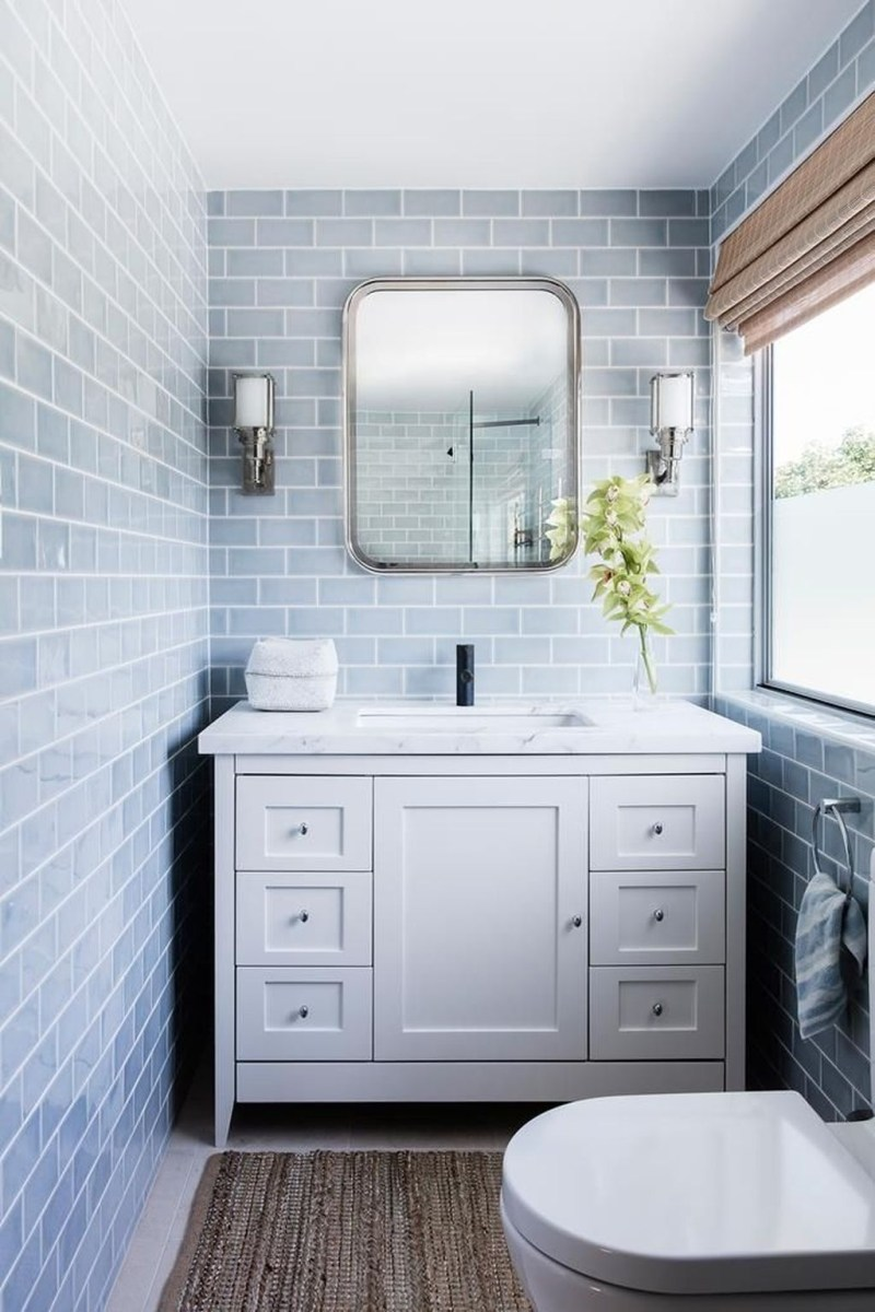 Nice Bathroom Decoration With Coastal Style 07