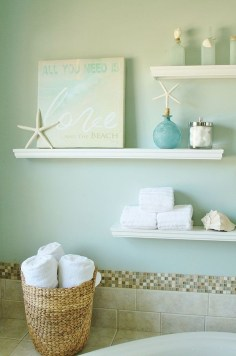 Nice Bathroom Decoration With Coastal Style 29