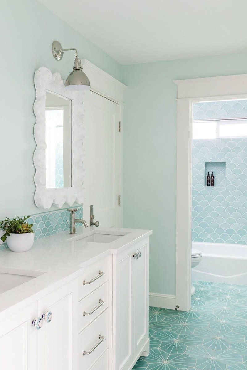 Nice Bathroom Decoration With Coastal Style 31