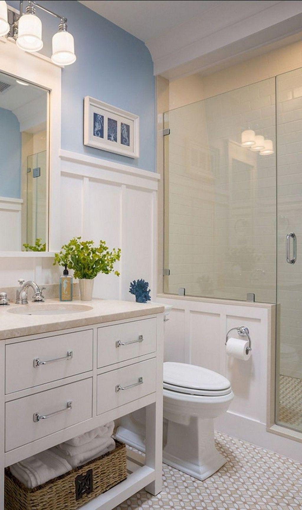 Nice Bathroom Decoration With Coastal Style 38