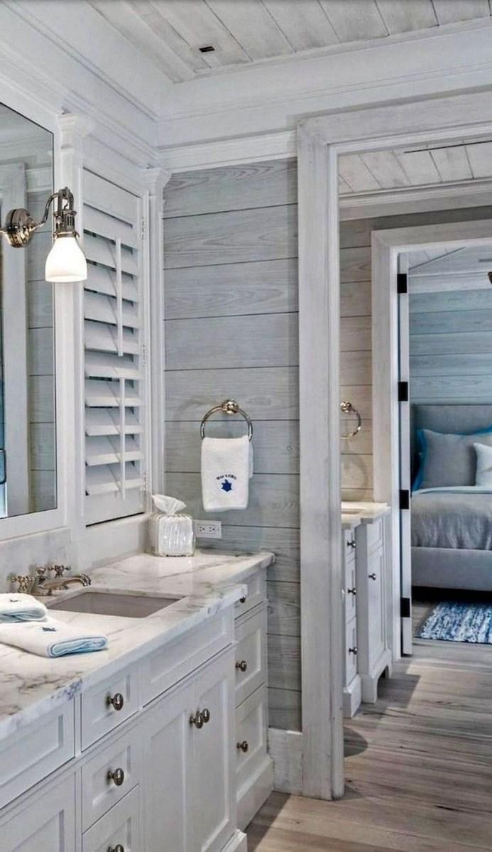 Nice Bathroom Decoration With Coastal Style 44
