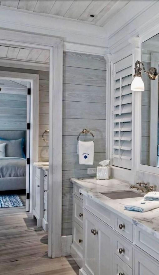 Nice Bathroom Decoration With Coastal Style 49