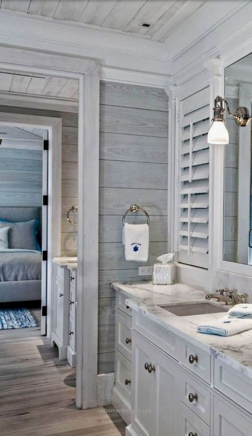 Nice Bathroom Decoration With Coastal Style 49