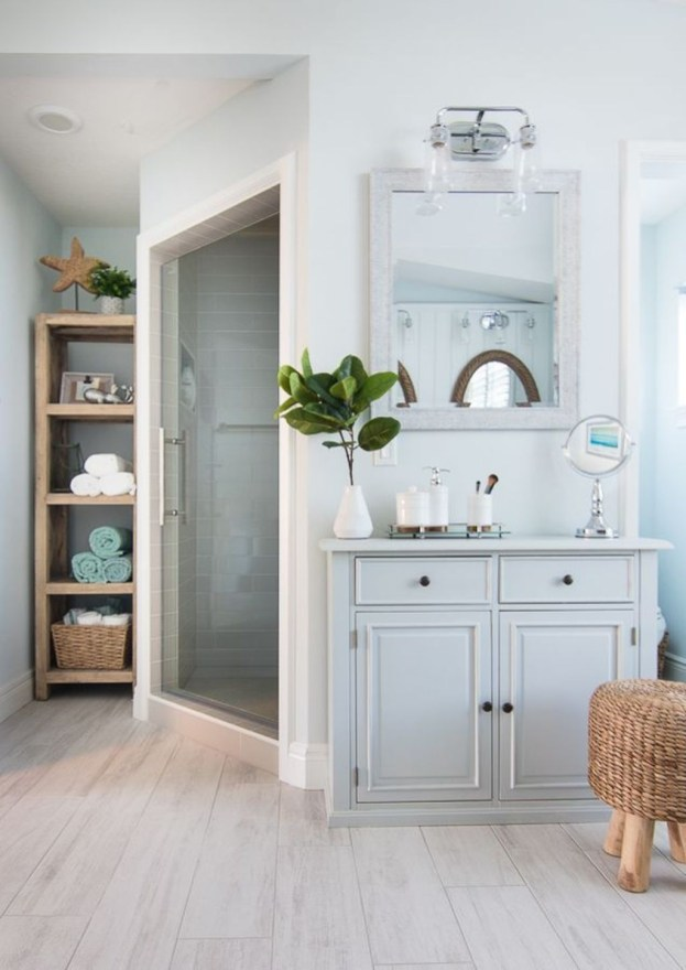 Nice Bathroom Decoration With Coastal Style 50