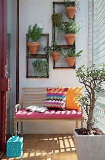 Popular Apartment Balcony Design For Small Spaces 11