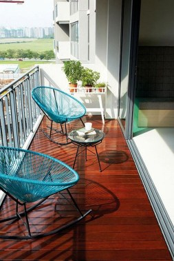 Popular Apartment Balcony Design For Small Spaces 27