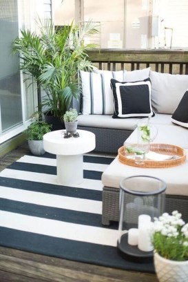 Popular Apartment Balcony Design For Small Spaces 36