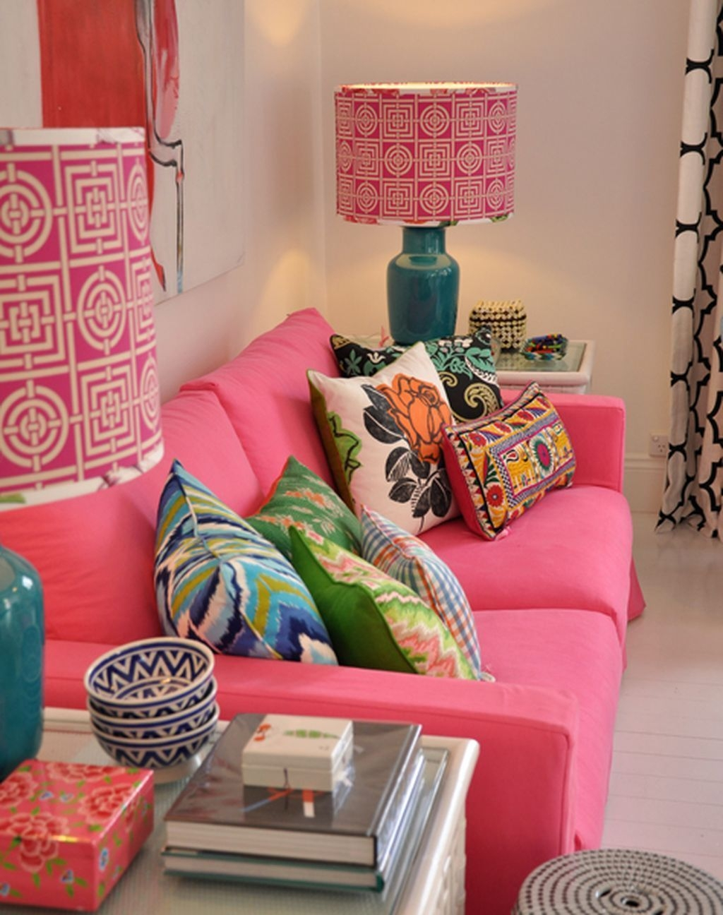 lovely pink living room decor ideas 41  sweetyhomee