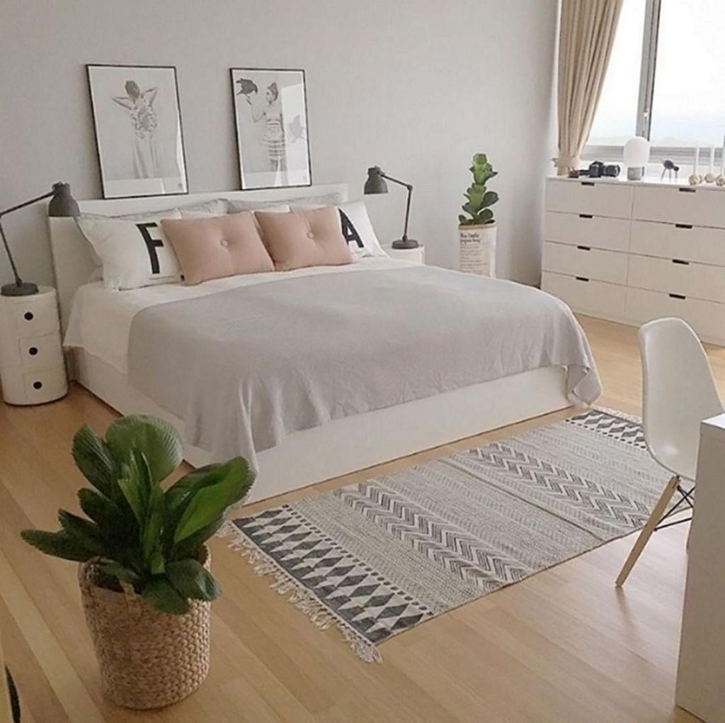 Minimalist Scandinavian Bedroom Decor Ideas 06