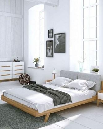 Minimalist Scandinavian Bedroom Decor Ideas 19