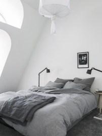 Minimalist Scandinavian Bedroom Decor Ideas 23