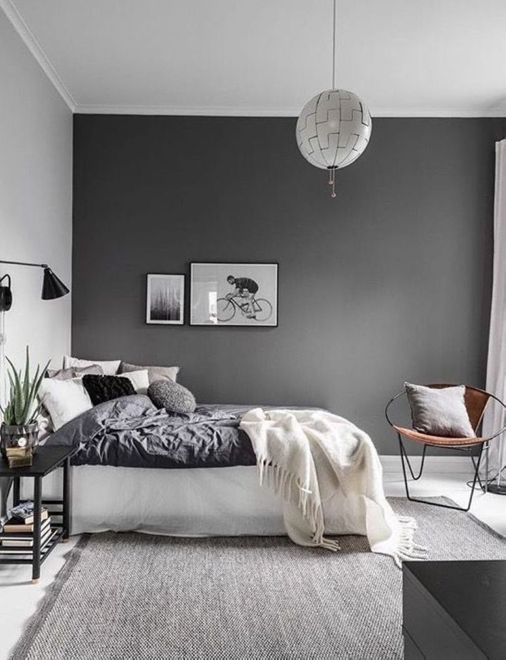 Minimalist Scandinavian Bedroom Decor Ideas 32