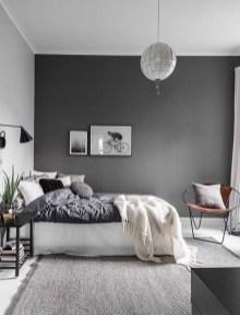 Minimalist Scandinavian Bedroom Decor Ideas 32