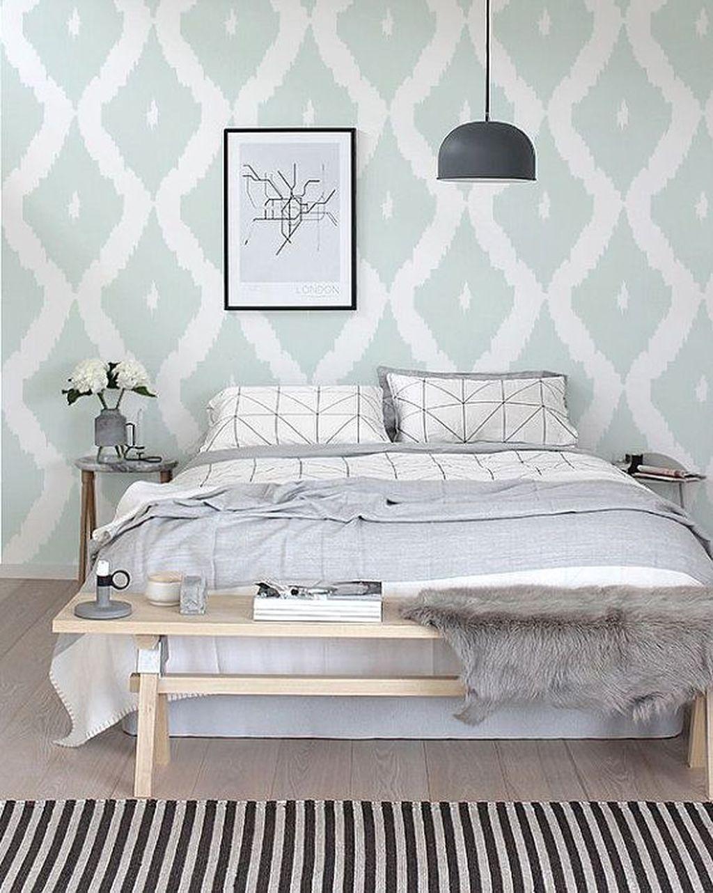 Minimalist Scandinavian Bedroom Decor Ideas 33