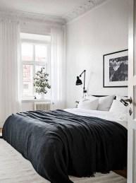 Minimalist Scandinavian Bedroom Decor Ideas 38