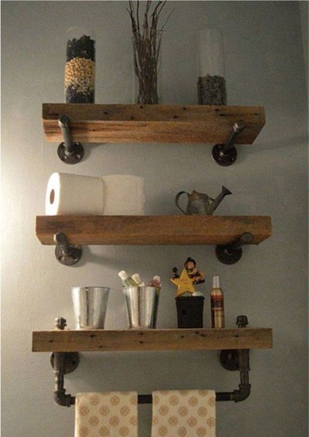 Perfect Rustic Farmhouse Bathroom Design Ideas 47