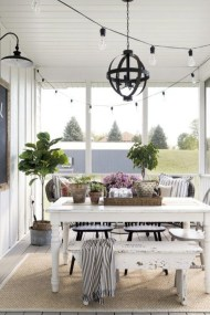 Popular Summer Dining Room Design Ideas 12