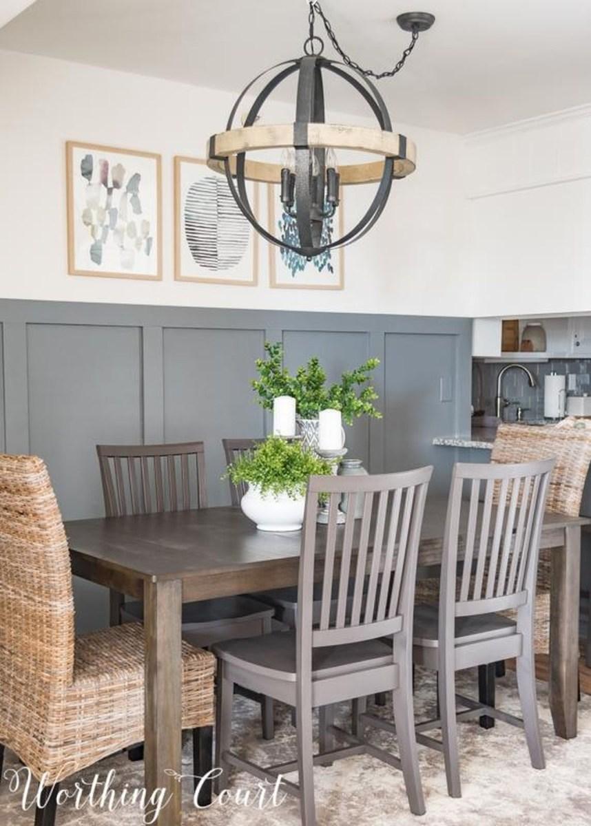 Popular Summer Dining Room Design Ideas 20