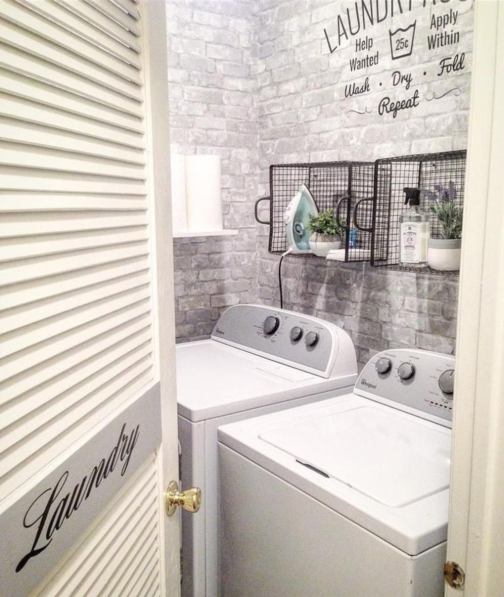 Small Laundry Room Design Ideas To Try 33