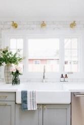 The Best Lighting In Neutral Kitchen Design Ideas 03