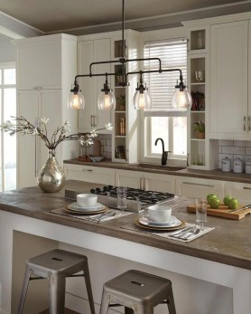 The Best Lighting In Neutral Kitchen Design Ideas 06