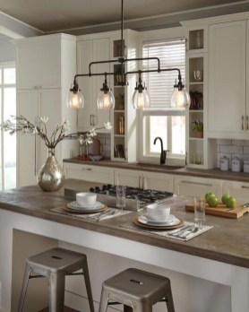 The Best Lighting In Neutral Kitchen Design Ideas 06