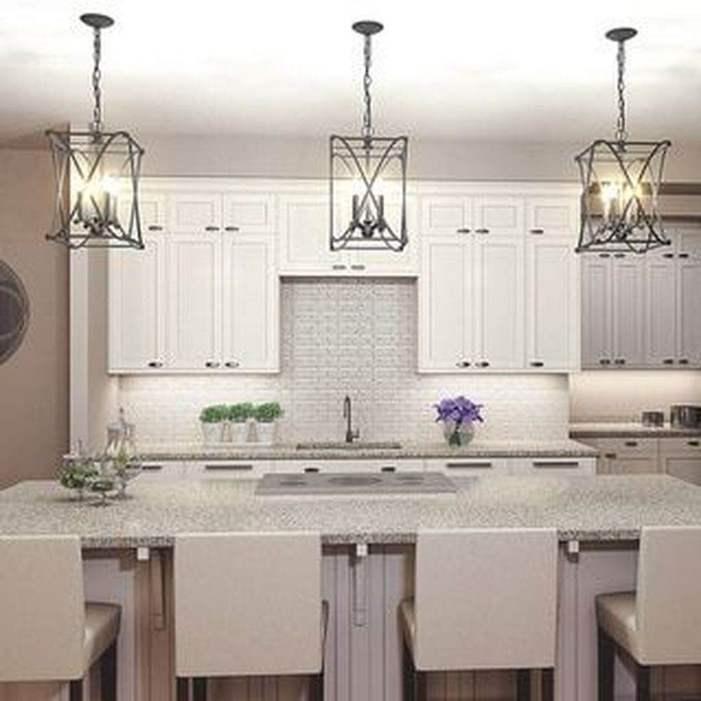 The Best Lighting In Neutral Kitchen Design Ideas 15