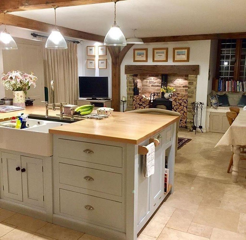 The Best Lighting In Neutral Kitchen Design Ideas 22