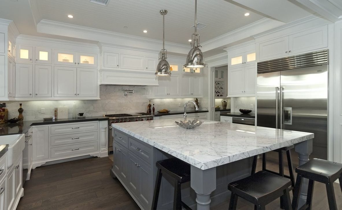 The Best Lighting In Neutral Kitchen Design Ideas 45