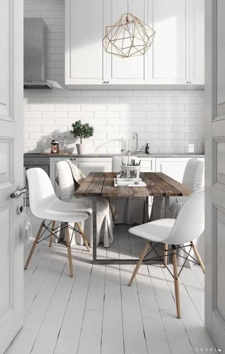 The Best Lighting In Neutral Kitchen Design Ideas 49