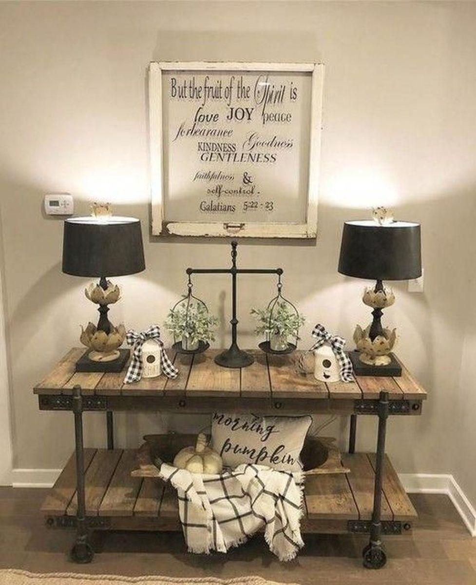 Admirable Farmhouse Living Room Decor Ideas 34